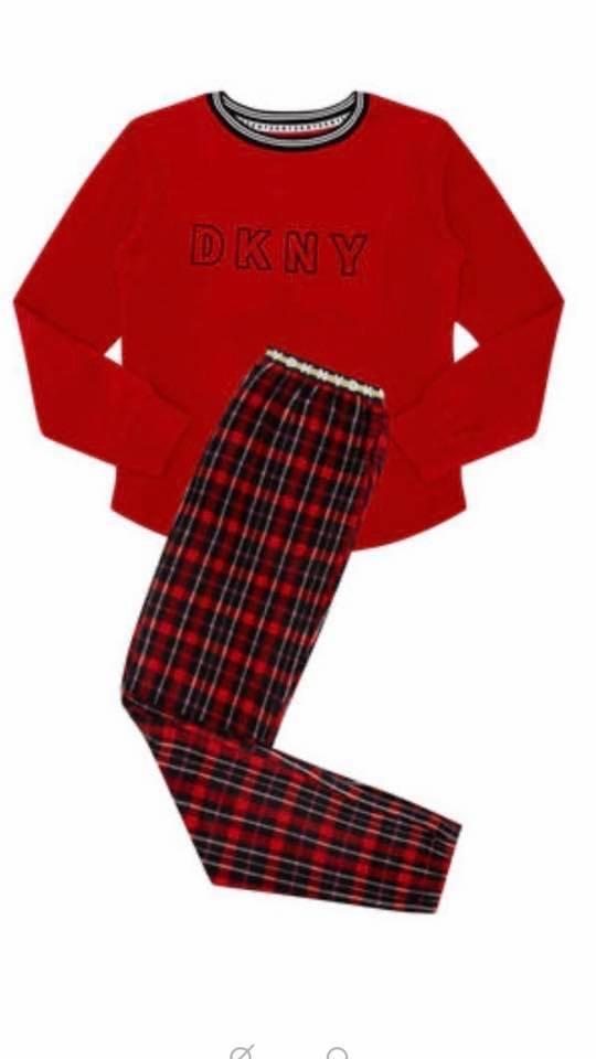 DKNY Tartan Pajamas